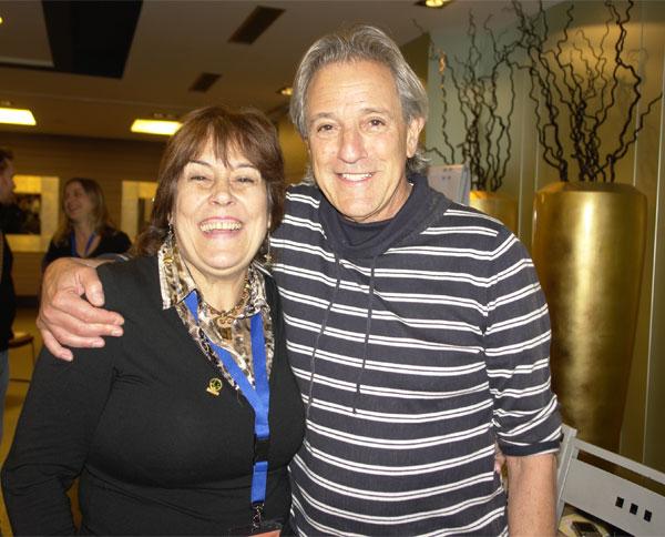 Bob Mandel y Nekane en Bilbao Hotel Abando Haciendo Grandes Cambios Seminario Rebirthing
