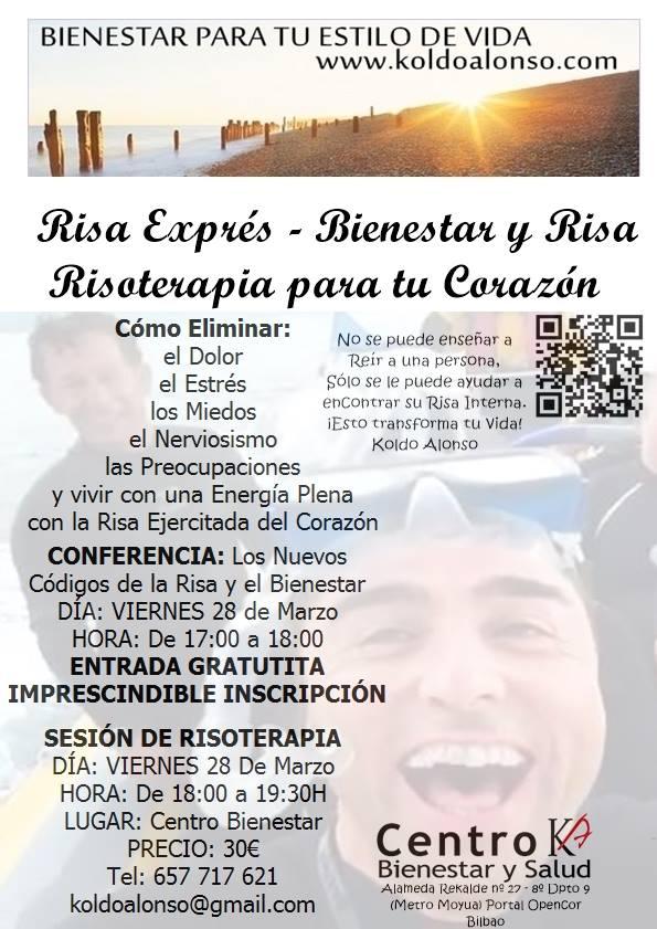 Risa Exprés en Bilbao y Donostia de la mano de Koldo Alonso | Yoga de la  Risa