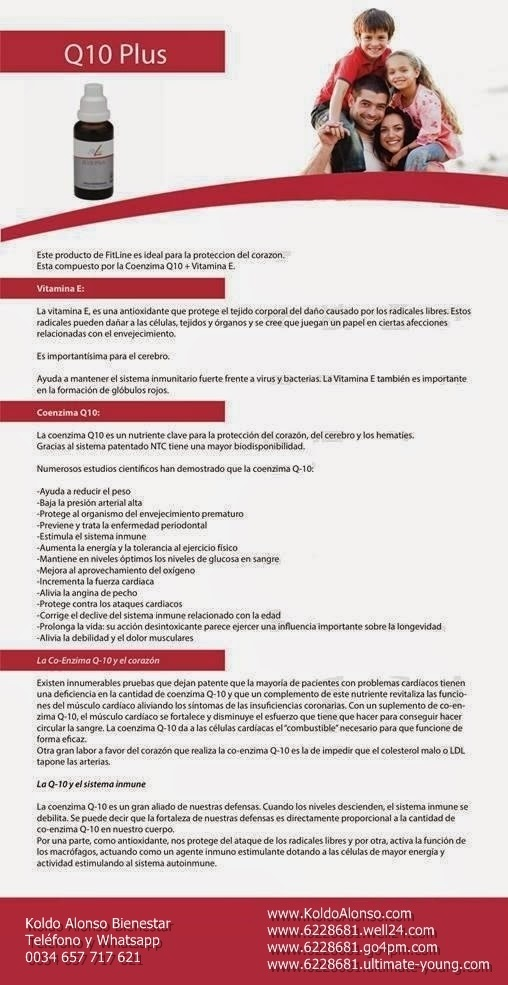 Q10 PLUS CON VITAMINA E DE PM INTERNATIONAL CON NTC RECOMENDADA POR KOLDO ALONSO BIENESTAR LA COENZIMA DE LA VIDA