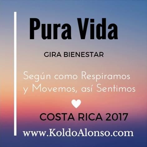 Gira BIENESTAR Pura Vida con Koldo Alonso en COSTA RICA MAYO 2017 Risoterapia y Metodo INTEGRA