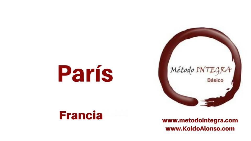Metodo INTEGRA en PARIS - FRANCIA con Jacqueline Poitevin y Koldo Alonso Sesiones y Cursos de TRANSFORMACION y Liberacion EMOCIONAL