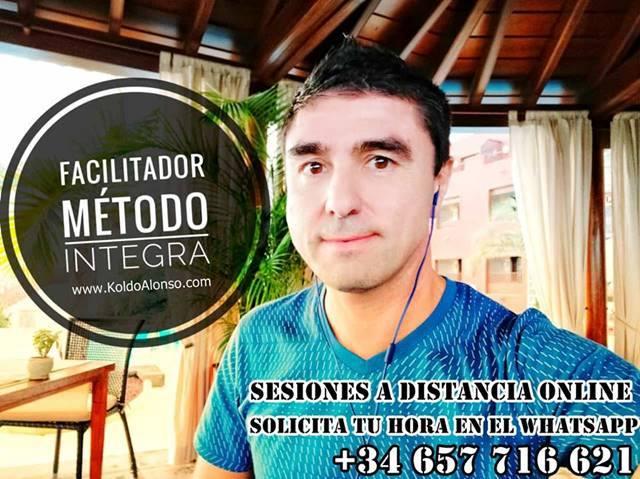 Koldo Alonso Facilitador Metodo INTEGRA Sesiones de TRANSFORMACION a Distancia ONLINE Solicita tu hora `por Whatsapp SUBCONSCIENTE Positivo