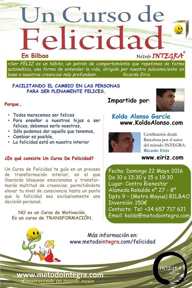 Un Curso de Felicidad en Bilbao