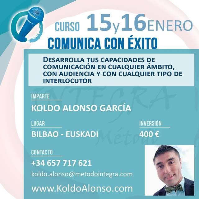 Comunica con ÉXITO en BILBAO