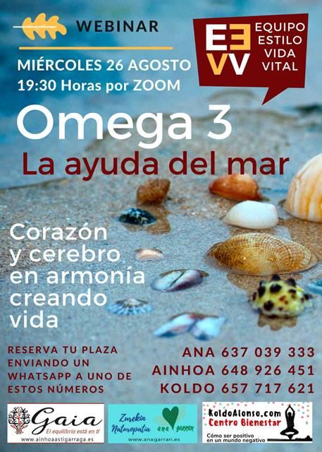 Omega 3 la ayuda del mar