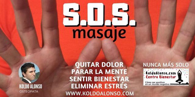 SOS masaje