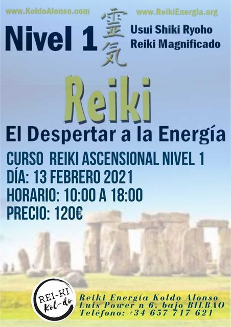 en Santutxu con la Energía Reiki
